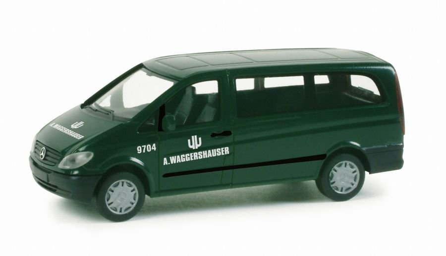 Herpa Mercedes Vito Bus ''Waggershauser'' ''048712''