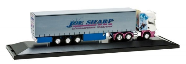 "Scania R TL s návěsem ""Joe Sharp, Northern Lights"" ""121361""  (1:87)"