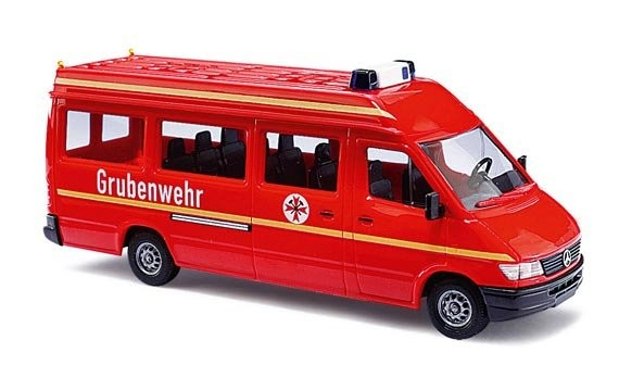 "Mercedes Sprinter Bus ""Hasiči "" ""BUSCH-47841""  (1:87)"