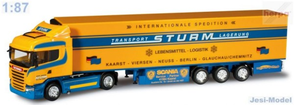 "Scania R 13 Streamline Highline návěsem ""Sturm"" ""302685""  (1:87)"