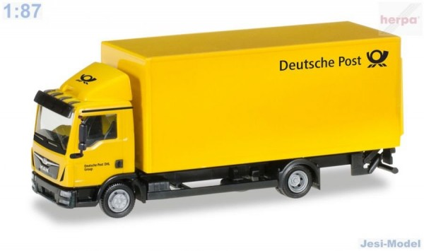 "Man TGL skříň-LKW ""Deutsche Post"" ""308212""  (1:87)"