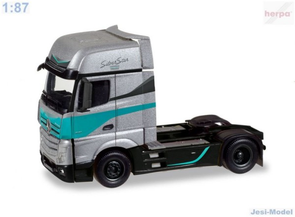 "Mercedes Actros Gigaspace tahač ""Silver Star Edition"" ""308830""  (1:87)"