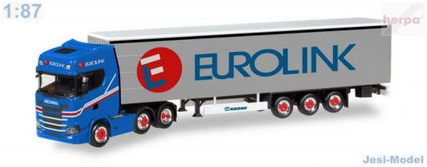 "Scania CS HD s návěsem ""Eurolink"" ""308526""  (1:87)"