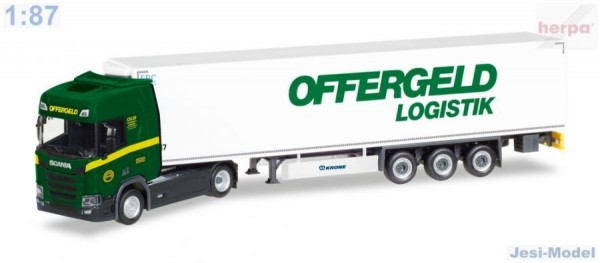 "Scania CR HD s chlaďákem ""Offergeld Logistik"" ""308755""  (1:87)"