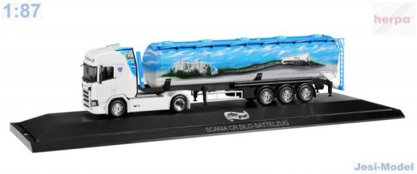 "Scania CR HD s návěsem""Edgar Graß"" ""121880""  (1:87)"