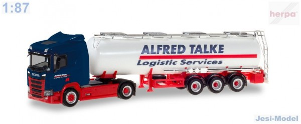 "Scania CR 20 ND s cisternou ""Alfred Talke"" ""310383""  (1:87)"