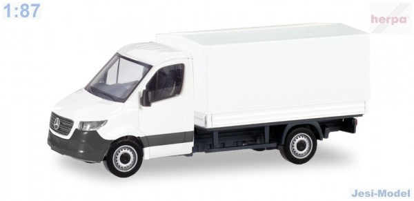 "MiniKit-MB Sprinter 18 s plachtou ""013703""  (1:87)"