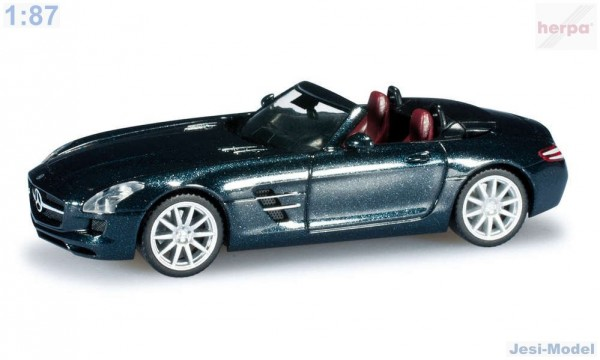 "Mercedes-Benz SLS AMG Roadster ""034852""  (1:87)"