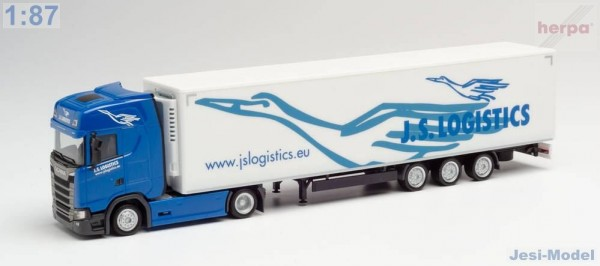 "Scania CS s chlaďákem ""JS Logistik"" ""312066""  (1:87)"