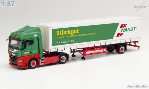 "MAN TGX GM s návěsem ""Spedition Wandt"" ""312684""  (1:87)"
