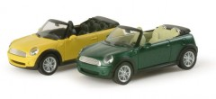 "Mini Cooper Cabrio metallic ""034197""  (1:87)"