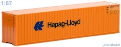 "Kontejner Hapag Lloyd 40ft./High Cube""S-491665""  (1:87)"