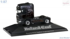 "Scania R TL tahač ""Roland Graf / Black Magic"" ""110730""  (1:87)"