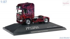 "Scania R TL tahač""The Black Hole / Pflumm"" ""110808""  (1:87)"