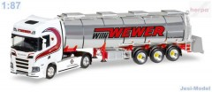 "Scania CR HD s cisternou ""Willi Wewer"" ""308427""  (1:87)"