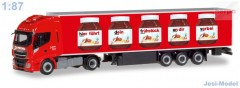 "Iveco Stralis Hi-Way XP s chlaďákem ""Nutella / Spedition Michel"" ""310031"" (1:87)"