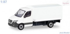 "MiniKit:Mercedes-Benz Sprinter 18 s plachtou ""013703""  (1:87)"