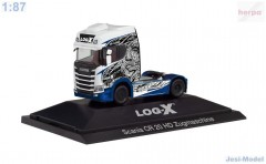 "Scania CR 20 HD ""Log-X / No Limit"" ""111034""  (1:87)"