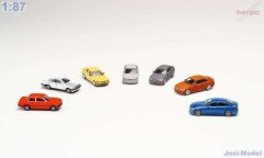 "Set 7 modelů BMW  ""076760""  (1:87)"