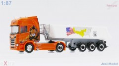 "Scania CR 20 HD s návěsem ""Angelo Raetzo"" ""940641""  (1:87)"
